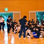 中学校バスケットボール指導